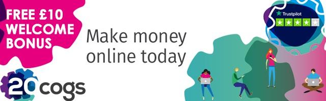 Earn on Average £200 + FREE £10 Welcome Bonus
