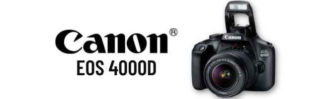 FREE Canon EOS 4000D DSLR Camera