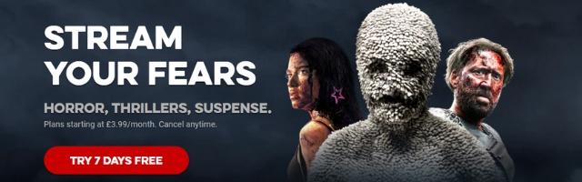 Stream horror, thrillers & suspense series & movies FREE!
