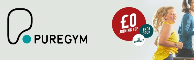 Join PureGym FREE Now!